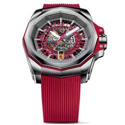 Corum-A082-03703-Mens-Admirals-Cup-Squelette-Red-Automatic-Watch