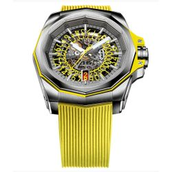 Corum-A082-03704-Mens-Admirals-Cup-Squelette-Yellow-Automatic-Watch