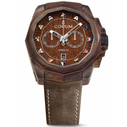 CORUM-A116-03210-Mens-Admiral-Cup-Chronograph-Brown-Automatic-Watch