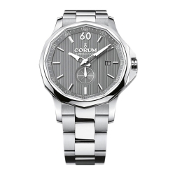 Corum-A395-01002-Mens-Admirals-Cup-Silver-Automatic-Watch