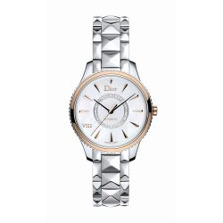 Dior-CD1535I0M001-Womens-VIII-Montaigne-White-Automatic-Watch
