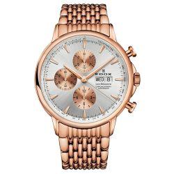 EDOX-01120-37RM-AIR-Mens-Les-Bemont-Gold-Tone-Automatic-Watch