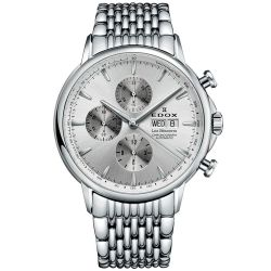 EDOX-01120--3M-AIN-Mens-Les-Bemont-Silver-Automatic-Watch