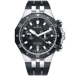 Edox-10109-357NCA-NIN-Mens-Delfin-Black-Quartz-Watch