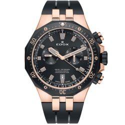 Edox-10109-357RNCA-NIRG-Mens-Delfin-Black-Quartz-Watch