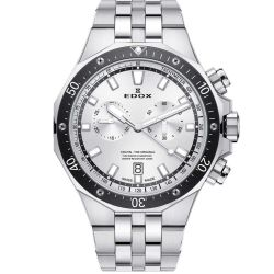 Edox-10109-3M-AIN-Mens-Delfin-Silver-Quartz-Watch