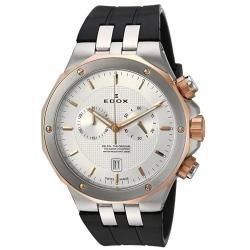 Edox-10110-357RCA-AIR-Mens-Delfin-Silver-Tone-Quartz-Watch
