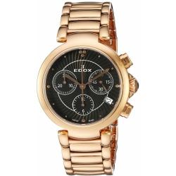 EDOX-10220-37RM-NIR-Womens-La-Passion-Black-Quartz-Watch