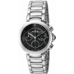 EDOX-10220-3M-NIN-Womens-La-Passion-Black-Quartz-Watch