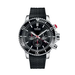 Edox-10227-TINCA-NIN-Mens-Titanium-Chronorally-S-Black-Quartz-Watch