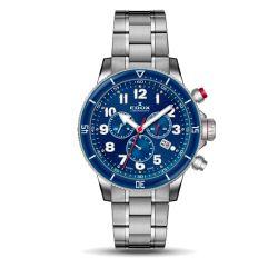 Edox-10227-3BURM-BUB-Mens-Chronorally-S-Blue-Quartz-Watch