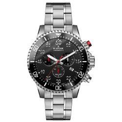 EDOX-10227-3M-NBN-Mens-Chronorally-S-Black-Quartz-Watch