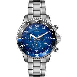 Edox-10227-3NBUM-BUBN-Mens-Chronorally-S-Blue-Quartz-Watch