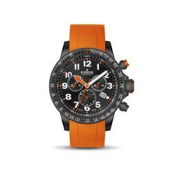 Edox-10229-37NOCA-NOB-Mens-Chronorally-S-Black-Quartz-Watch