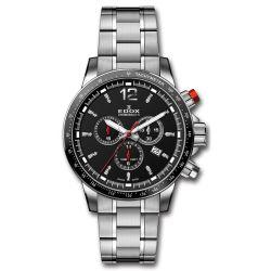 EDOX-10229-3M-NIN-Mens-Chronorally-S-Grey-Quartz-Watch