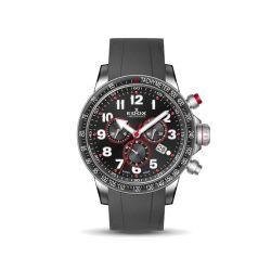 Edox-10229-3RCA-NROB-Mens-Chronorally-S-Black-Quartz-Watch