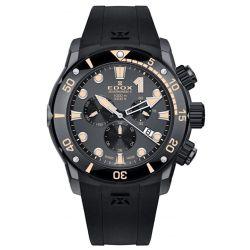 Edox-10234-357GN-NINB-Mens-Sharkman-II-L.E-Black-Quartz-Watch