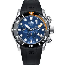 Edox-10234-3O-BUIN-Mens-Sharkman-II-L.E-Blue-Quartz-Watch