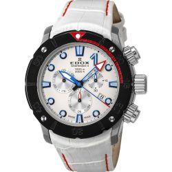 Edox-10234-3R-BIBU-Mens-Sharkman-II-L.E-White-Quartz-Watch