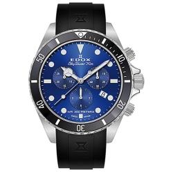 Edox-10238-3NCA-BUI-Mens-Skydiver-Blue-Quartz-Watch