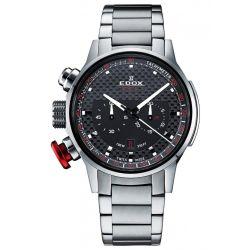 Edox-10302-3M-NIN2-Mens-Chronorally-Black-Quartz-Watch