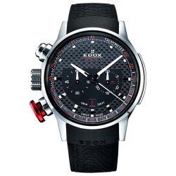 Edox-10302-3-NIN2-Mens-Chronorally-Black-Quartz-Watch