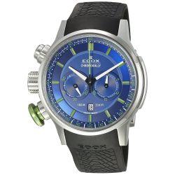Edox-10302-3V-2BUV3-Mens-Chronorally-Blue-Quartz-Watch