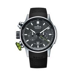 Edox-10302-3V-GIN-Mens-Chronorally-Black-Quartz-Watch