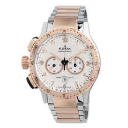 Edox-10305-357RM-AR1-Mens-Chronorally-1-Two-tone-Quartz-Watch