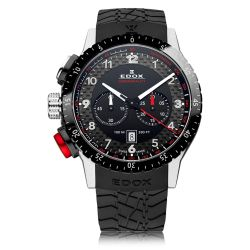 EDOX-10305-3NR-NR-Mens-Chronorally-Black-Quartz-Watch