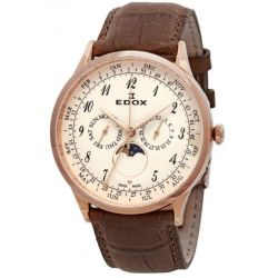Edox-40101-37RC-BEBR-Mens-Les-Vauberts-White-Quartz-Watch