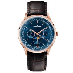 Edox-40101-37RC-BUIR-Mens-Les-Vauberts-Blue-Quartz-Watch