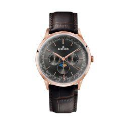 Edox-40101-37RC-GIR-Mens-Les-Vauberts-Gray-Quartz-Watch