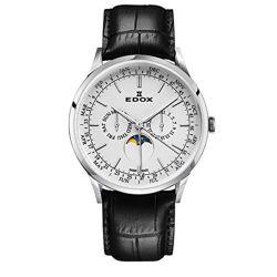 Edox-40101-3C-AIN-Mens-Les-Vauberts-Silver-Quartz-Watch