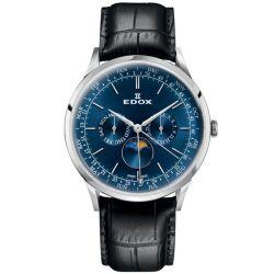 Edox-40101-3C-BUIN-Mens-Les-Vauberts-Blue-Quartz-Watch