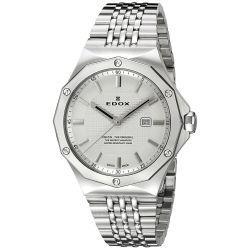 EDOX-54004-3M-AIN-Womens-Delfin-Silver-Quartz-Watch