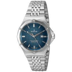 EDOX-54004-3M-BUIN-Womens-Delfin-Silver-Quartz-Watch
