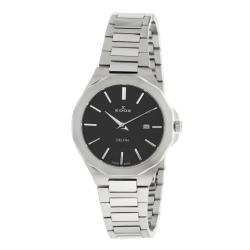 EDOX-57005-3M-NIN-Womens-Delfin-Black-Quartz-Watch