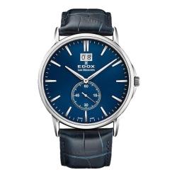 Edox-64012-3-BUIN-Mens-Les-Bemonts-Blue-Quartz-Watch