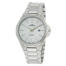 EDOX-71289-3M-AIN-Mens-Delfin-Silver-Quartz-Watch