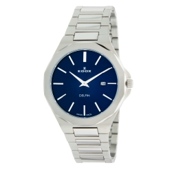 EDOX-71289-3M-BUIN-Mens-Delfin-Blue-Quartz-Watch