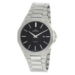 EDOX-71289-3M-NIN-Mens-Delfin-Black-Quartz-Watch