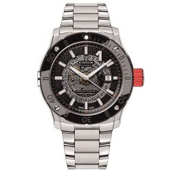 Edox-80099-3RM-NIN-Mens-Stainless-Steel-Black-Automatic-Watch