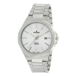 EDOX-80117-3M-AIN-Mens-Delfin-Silver-Automatic-Watch