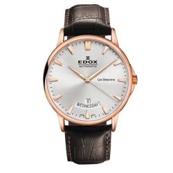 Edox-83015-37R-BIR-Mens-Les-Bemonts-Silver-Tone-Automatic-Watch