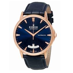 Edox-83015-37R-BUIR-Mens-Les-Bemonts-Blue-Automatic-Watch
