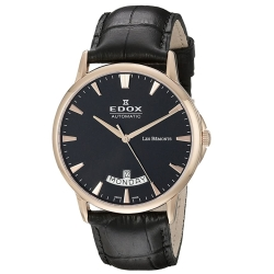 Edox-83015-37R-NIR-Mens-Les-Bemonts-Black-Automatic-Watch