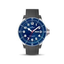 Edox-84300-3BURCA-BUB-Mens-Chronorally-S-Blue-Quartz-Watch