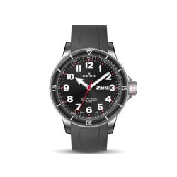 Edox-84300-3RCA-NROB-Mens-Chronorally-S-Black-Quartz-Watch
