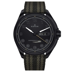 EDOX-84301-37NNNAG-NNV-Mens-Chronorally-S-Black-Quartz-Watch
